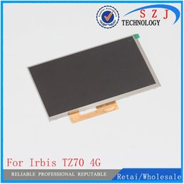 Wholesale Tft Lcd Tablet - New 7'' inch LCD display For Irbis TZ70 4G Hit TZ49 Irbis TZ56 Tablet inner TFT LCD Screen Panel Lens Module Glass Replacement