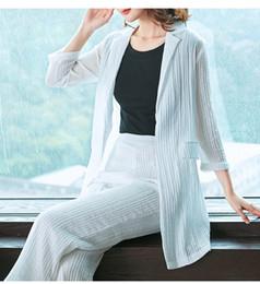 frauen-hosen Rabatt Womens Wide Leg Hosen Karriere Anzüge Zwei Stücke Sets Für Arbeit Büro Uniform Designs Frauen Weiß Braun Formale Hosen Anzüge