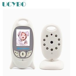 Wholesale Night Vision Camera System - 2.4GHz digital Wireless Video Baby Monitor wifi with mini Camera LCD Baby Monitors system 2 Way audio Night Vision