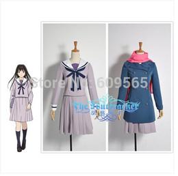 Wholesale Coat Tie For Men - Noragami Cosplay Costume Sailor Suit Uniform For Women Customize A coat, jacket, skirt, ties, scarves, Socks