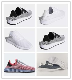 Wholesale fall knitting - DEERUPT RUNNER TUBULAR SHADOW KNIT Outdoor Jogging Classic black red white men women Running Shoes CQ2624 Sports Sneakers Eur 36-45