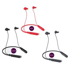 Cuffia avricolare bluetooth senza fili di sport rosso online-NUOVO! Auricolari Bluetooth con conduzione auricolare Bluetooth E2 Auricolari bluetooth / nero / rosso / grigio