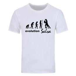 Wholesale Black Evolution - evolution salsa Men's short sleeve T shirt Cheap Fitness casual cotton T shirt New Summer Fashion Men's Round Neck Tops Tees DIY-0825D