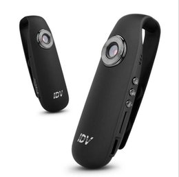 caméra portable Promotion Volemer Mini Caméra IDV007 Full HD 1080 P Mini DV Caméra Dash Cam Wearable Body Bike Caméra H.264 Micro Caméra