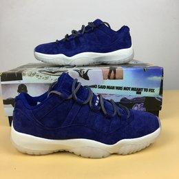 Wholesale Fabric Carbon - RE2PECT 11S low men basketball shoes with real carbon fibre 11s sneaker size eur 41-47 free shipping