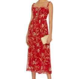Wholesale Women Silk Jumpsuit - Women Square Neck Corsair Iris Corset Jumpsuit Lace-up Ruffles Ruffle-trim Straps Silk Jumpsuit