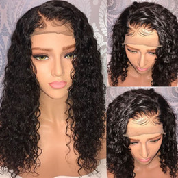 Ventes chaudes pas cher Afro crépus bouclés perruque synthétique avant de la dentelle résistant à la chaleur sexy cheveux noirs naturels femmes perruques 12-26 pouces en stock perruque cosplay ? partir de fabricateur