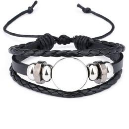 bracelets de corde pour sublimation bijoux de bracelet vierge de mode pour transfert thermique impression nouveau style 2018 bijoux en gros ? partir de fabricateur