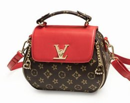 Wholesale Bill Hands - The new vintage women's hand bill of lading bill of lading shoulder bag printed female bag factory wholesale.