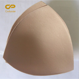 Wholesale Cup Bra For Dresses - Codysale 10 Pairs lot Bra Pads Triangle Sponge Pads for Dress Removable Insert Breast Enhancers Intimate Accessories Bra Cups