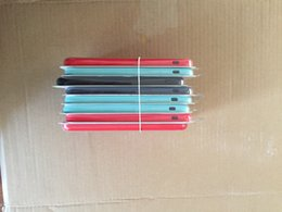 Wholesale Iphone 5s Apple Logo - 50Pcs lot Original Silicone Case For 5 5s SE 6 6s 7 8 plus and for x official Phone Cover with logo and packing box