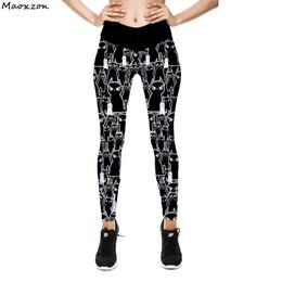 624c9399b12 womens summer leggings 2019 - Maoxzon Womens High Waist Sexy Fitness Thin  Slim Leggings Pants For