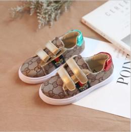 Koreanische babyschuhe online-ACE New Fashion Designer Kinderschuhe Kinder Casual Style Schuhe Korean Stitching Pattern Schuhe für Baby Jungen Mädchen