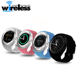 "Wholesale kid gps tracking watch - Y1 Smart Watch Fitness Activity Tracker 1.54"" Touch Screen Sleep Monitor Pedometer Calories Track support SIM card solt"