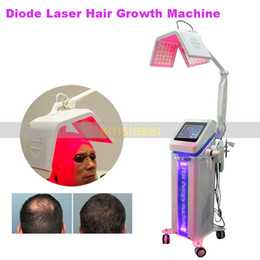 hair growth caps Coupons - 650nm hair growth machine beauty hair loss treatment hair regrowth laser beauty machines comb brush cap 5 handles
