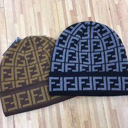 2018 Newest Unisex Winter Men brand F FF FILA logo knitted hat men fashion beanies gorro women warm casual outdoor ski skull caps