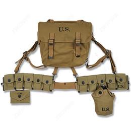 Seconde Guerre Mondiale US Army M1936 Haversack M36 Musette Sur Le Terrain De Chasse Escalade BackPack Équipement Conbination 3 ? partir de fabricateur