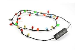 Led ожерелье мигает бисером светящиеся ожерелья кулон игрушки Рождественский подарок партии пользу подарки бесплатная доставка 20180509# от Поставщики оптовые перья для шитья