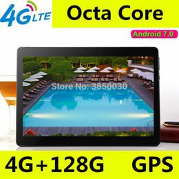 2019 câmera g sensor comprimido 10 polegada tablet pc Octa Núcleo 3G 4G LTE Tablets Android 7.0 RAM 4 GB ROM 128 GB Dual SIM Bluetooth GPS Tablets 10.1 polegada tablet pcs