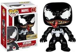 Argentina Figura de acción de vinilo Funko POP Venom con caja # 82 Modelo de juguete popular Buena calidad Envío gratis Suministro
