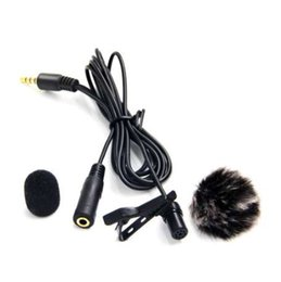 microphone apple pour ipad Promotion Nicama LVM4 Lavalier Revers Microphone Omnidirectionnel pour Apple MacBook, iPod, Android pour iphone ipad