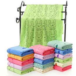 Wholesale Dogs Beds Sale - DOGIBILA 140*70cm Super-sized microfiber strong absorbing water bath pet towel dog towels Golden retriever teddy general on sale