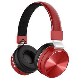 B006 tiempo de trabajo largo Auriculares Bluetooth con micrófono Auriculares inalámbricos estéreo Auriculares plegables y extensibles Soporte TF Radio FM desde fabricantes