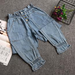9a6951e6e5584 4xl plus big size jeans panty women spring winter autumn 2017 feminina  fashion thin jeans stretch pants female Y0909