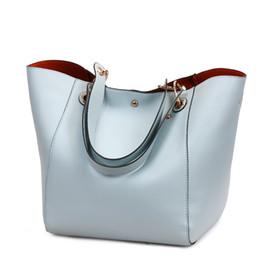 Wholesale women handbags usa - 2018 Handbag litchi pattern large capacity USA style women handbag fashion totes pu leather soft material high quality purse women bag