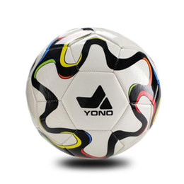 Wholesale Competitions Free - White striped official size 5 soccer ball for 11 people high seamless competition event soccer ball european game foorball free shipping