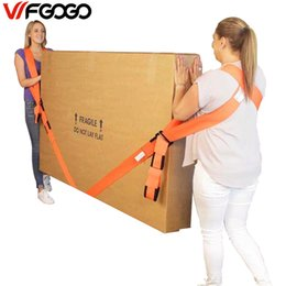 Wholesale Moving Tools - WFGOGO Move with tool Furniture Accessories Refrigerator belt Nylon rope Load line Shoulder strap Move artifact Home of the rope