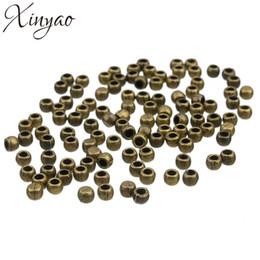 100pcs / lot Bronze Antique / Argent Couleur Capuchons En Métal Perles Convient 3mm Rond En Cuir Cordon BRICOLAGE Fabrication de Bijoux Matériaux F1563 ? partir de fabricateur