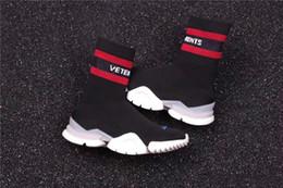 mädchen sneakers socken Rabatt Rabatt CREW UNISES Socke Trainer Droping RUNNING Schuhe Socken Trainer Stiefel Stricken Womens Girls High Top Sport Casual Sneakers