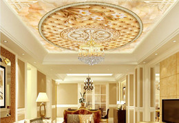 2019 pinturas clássicas anjos 3d teto moderno 3d mural papel de parede personalizado magnólia 3d teto sala mural papel de parede para paredes 3 d teto