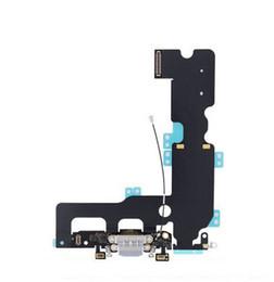 2019 mikrofonanschluss USB Dock Connector Ladegerät Ladeanschluss Kopfhörer Audio Jack Mic Flex Kabel Band Für iPhone 5 5 s 5c SE 7 8 Plus X