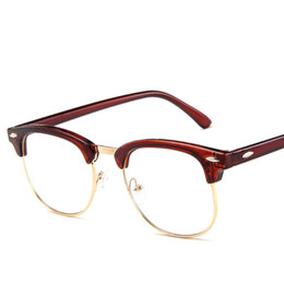 dc285535677 2018 Vintage Transparent Eyeglasses Frames Women Myopia Glasses Optical  Frame Brand Eyewear TOM Glasses Men Oculos discount tom eyeglasses