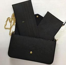 9e8be12645b1 частичные сумки Скидка AAAAA M64064 21 см кошелек Pochette Felicie,  Empreinte внешняя отделка воловьей кожи