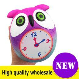 morbido orologio Sconti Squishy sveglia di alta qualità Jumbo Slow Rising Soft Oversize Phone Spremere giocattoli Ciondolo Anti Stress Kid Cartoon Toy Decompression Toy