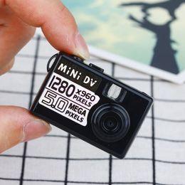 Wholesale smallest portable camera - Smallest 5MP HD Micro Camera Mini DV Digital Camera Video Camcorder Webcam DVR Driving Recorder 720P 1280*960 Portable Web Cam