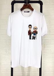 Wholesale korean new design shirt - Summer new south Korean version of men's short-sleeved T-shirt, men's fashion, men's fashion design, short sleeves and short sleeves.