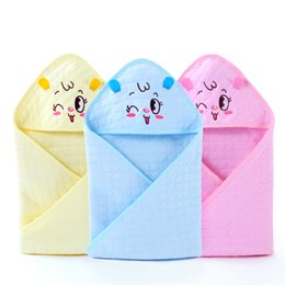 Wholesale Sleep Blankets For Infants - infant Baby cotton Quilting Envelope Baby blanket sleeping bag for newborn wrap sleepsack cartoon blanket Updated