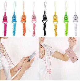 Wholesale Chain Certificates - 2018 360 degree Rotate Detachable Lanyard 50cm Necklace String Neck Chain Sling PC keychain for cell phone Certificate work card