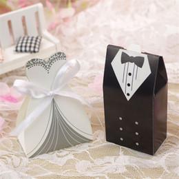 2019 silberner verpackungspapier Hochzeit Pralinenschachtel Braut und Bräutigam Geschenkboxen Party Hochzeit Bevorzugungen Giveaways Geschenk Hochzeit Tür Geschenk-Paket