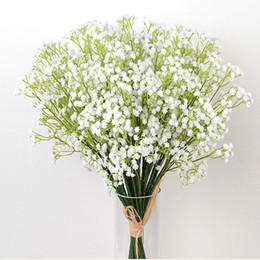Canada Gypsophila Fleurs Artificielles Fleurs De Table 30Pcs dans Vase Bouquet De Mariée Faux Babysbreath Fleurs Maison Décoration De Mariage 105 - 1000B Offre