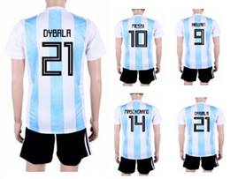 92223f3e7b4 customized jersey set Promo Codes - 18-19 Customized 9 Icardi Soccer Jersey  Sets With