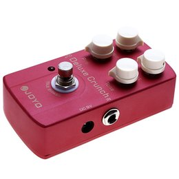 Wholesale guitar pedal joyo - JOYO Electric Guitar Effect Pedal Deluxe Crunch Metal Instrument Spare Part Deluxe Crunch Luxury Distorted Classic Crunch