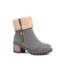boot blacking factory Promo Codes - 5 colors new free shipping wholesale shoes factory super quality women dress shoes long fashion suede fleece boots