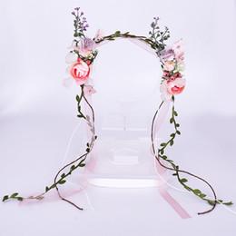 Rose Ceinture Naturel Style Filles Bandeau pour la Fête De Mariage À La Main Fleurs Artificielles Charme De Mariage Accessoires De Cheveux T17 ? partir de fabricateur
