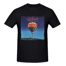 Areja personalizado on-line-Abastecimento de ar dos homens da moda que você ama personalizado camiseta preto
