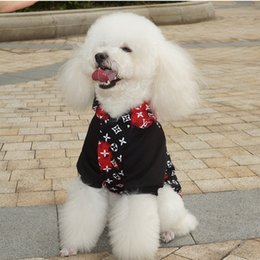 6bc025b5cb0b cute new years shirts Promo Codes - Brand Joint S+V Dog Hoodies Pet Casual